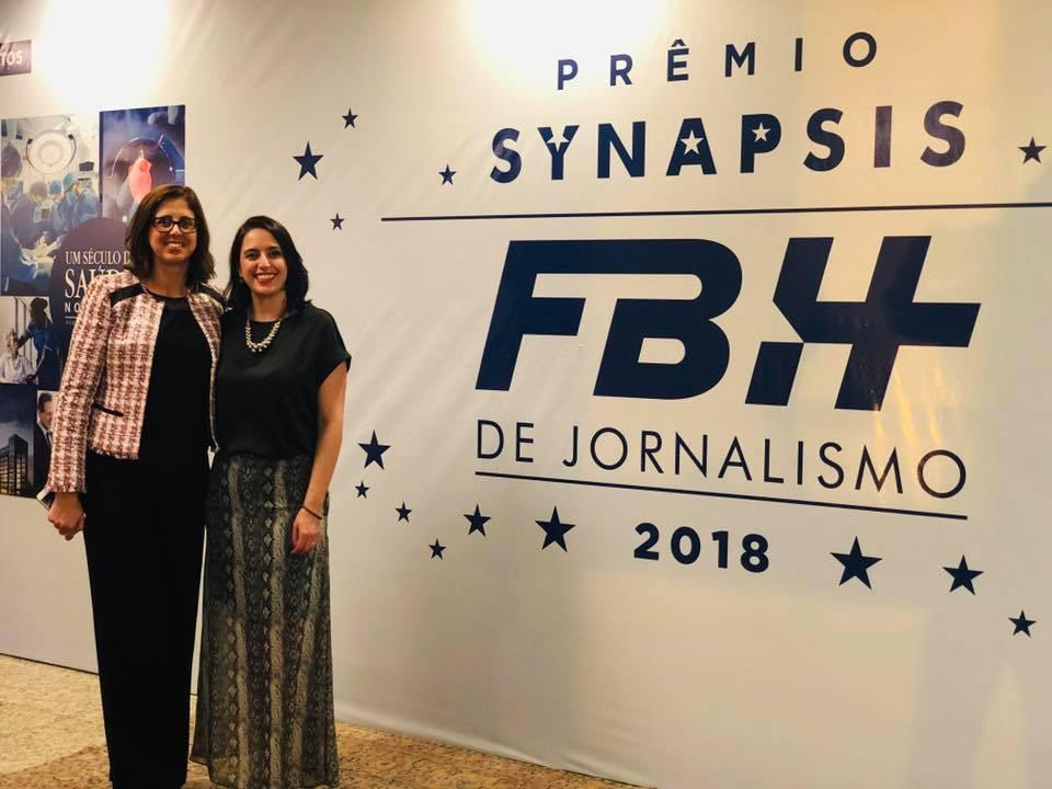 Abramed prestigia Prêmio Synapsis FBH de Jornalismo