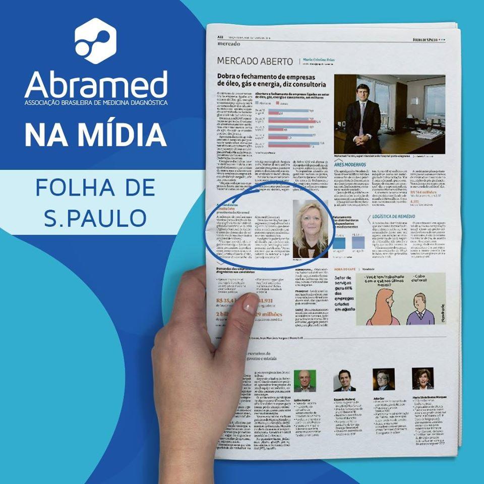 Claudia Cohn fala para a Coluna Mercado Aberto da Folha de S. Paulo