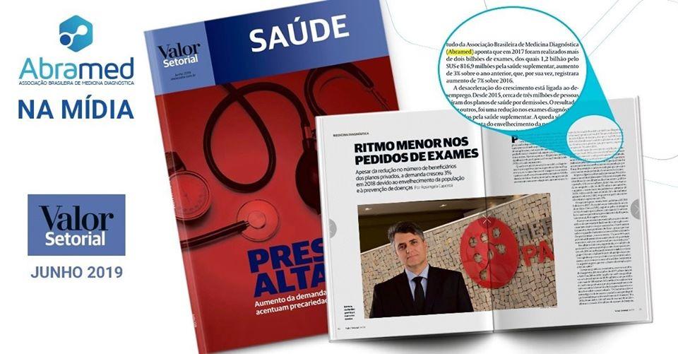 Abramed em matéria especial da Revista Setorial Saúde do Jornal Valor Econômico