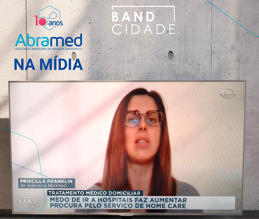 Reportagem do Band Cidade (BA) fala sobre queda na procura por exames