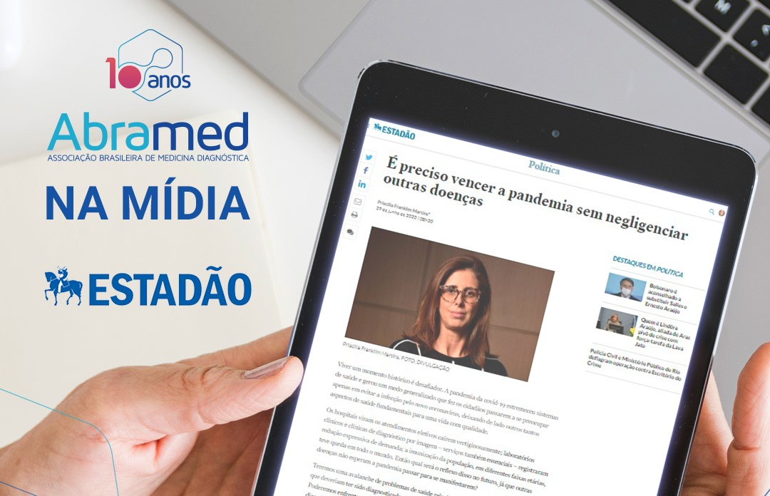 Diretora-executiva da Abramed tem artigo publicado no Estadão