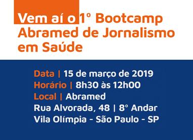 Abramed realiza 1º Bootcamp de Jornalismo em Saúde