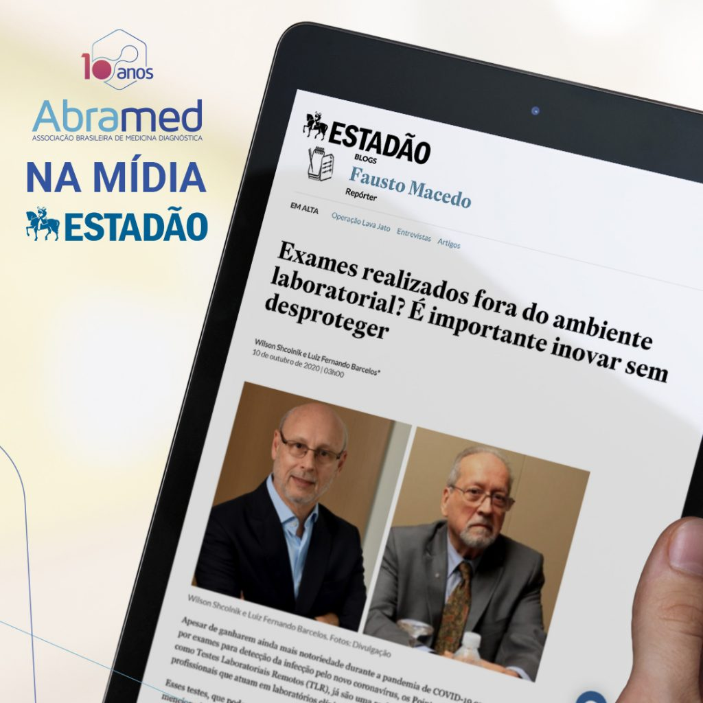 Em artigo publicado no Estadão, presidentes da Abramed e SBAC alertam sobre CP 912