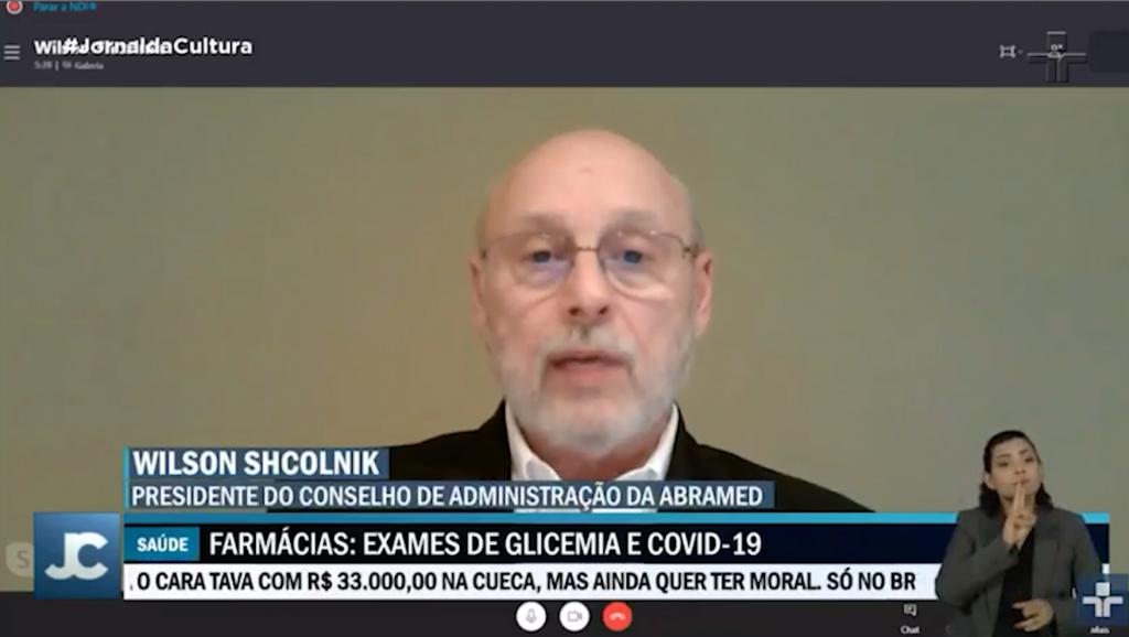 Abramed fala ao Jornal da Cultura sobre consultas públicas 911 e 912 da Anvisa