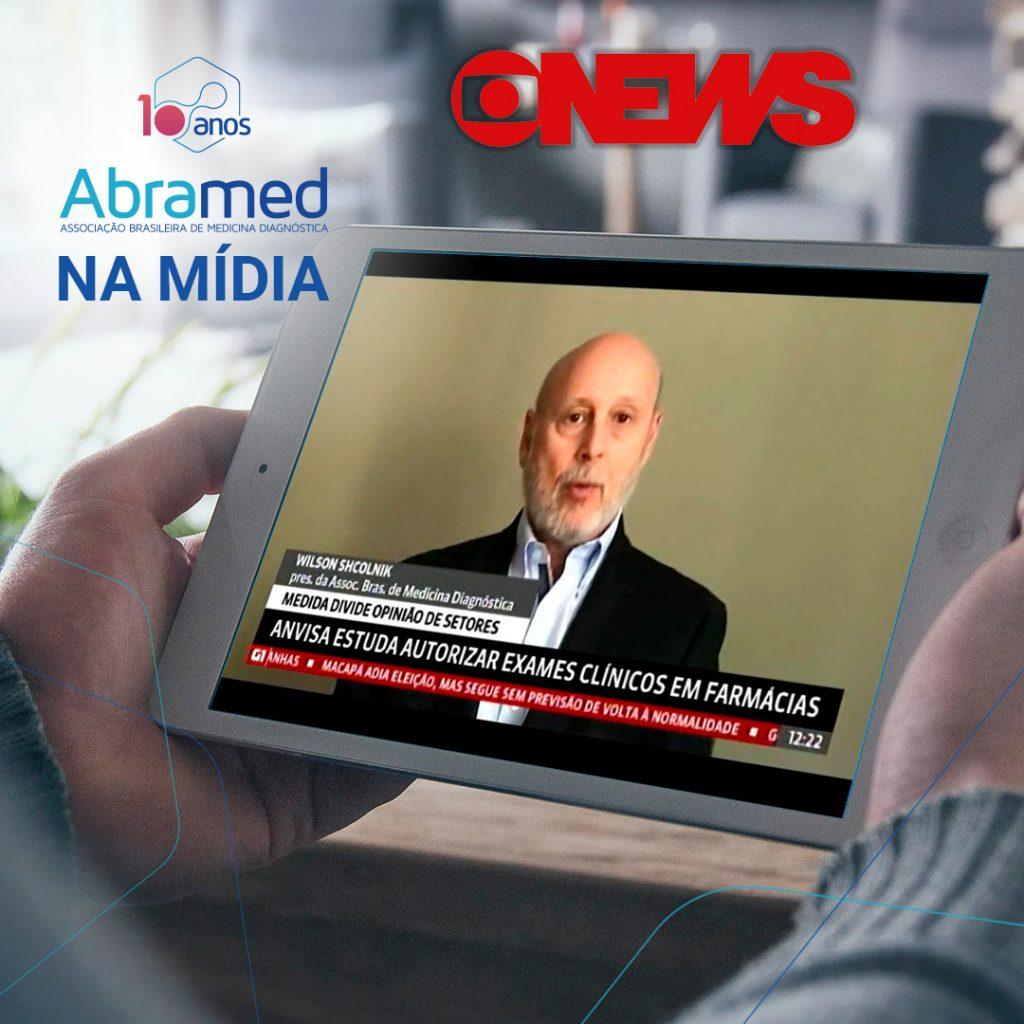 Presidente da Abramed fala à GloboNews sobre consultas públicas que impactam a medicina diagnóstica