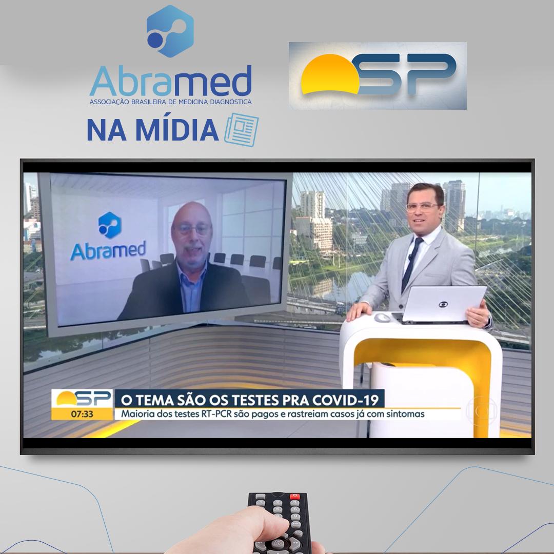 Presidente da Abramed fala ao Bom Dia SP sobre testes para Covid-19 no estado de São Paulo