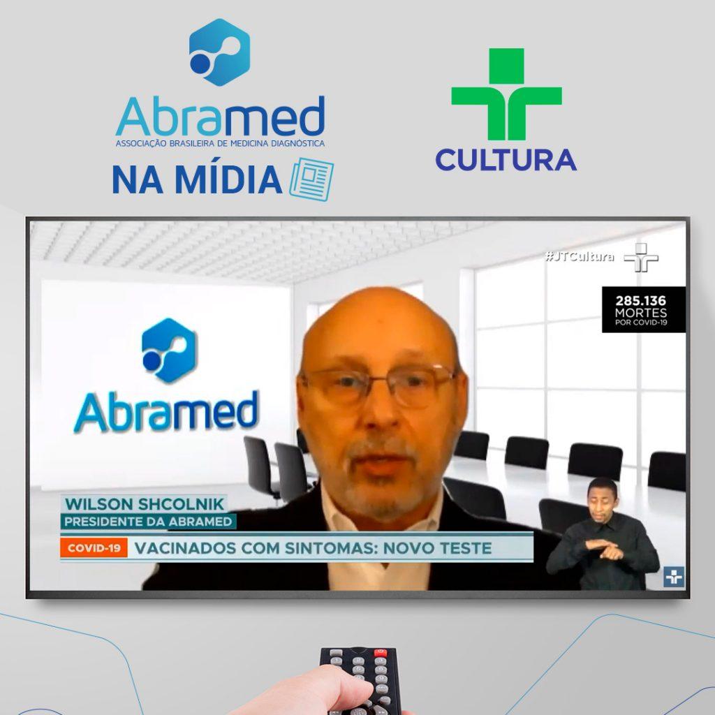 Em entrevista à TV Cultura, presidente da Abramed faz alerta sobre realização de testes de COVID-19 em farmácias