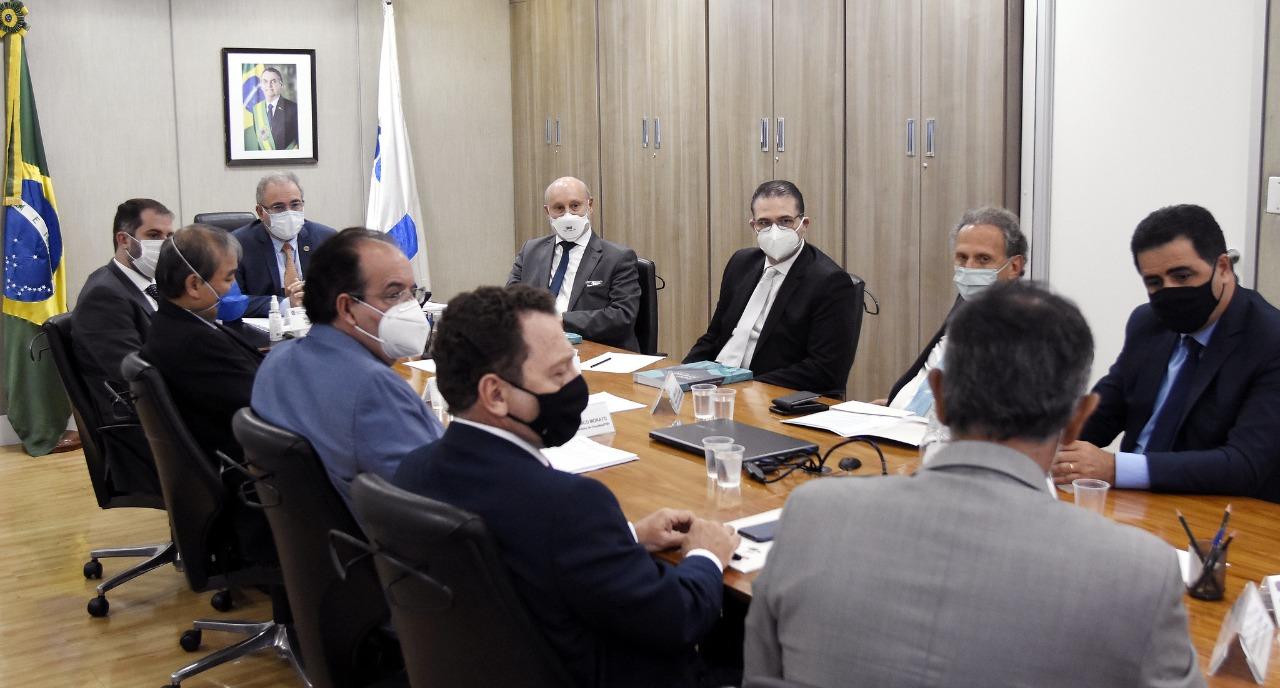 Abramed participa de audiência com o ministro da saúde Marcelo Queiroga